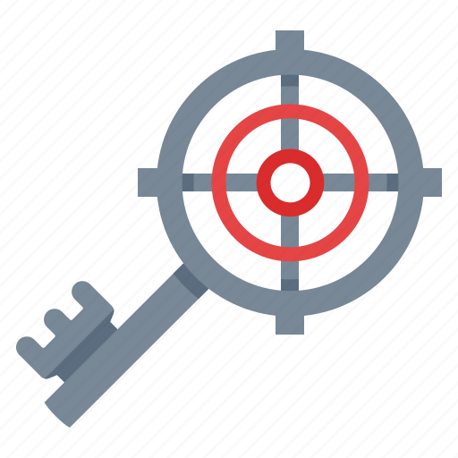 key, keyword, marketing, optimization, search engine, seo, target icon