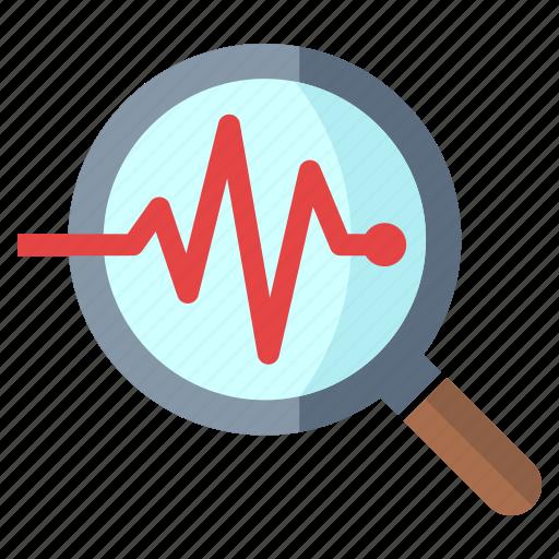 business analysis, monitoring, seo icon