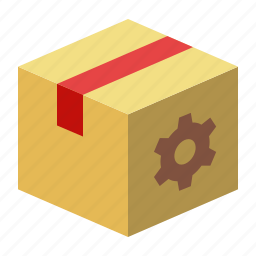 box, packages, search engine, seo icon