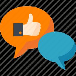 chat, communication, conversation, social media, speech bubble icon