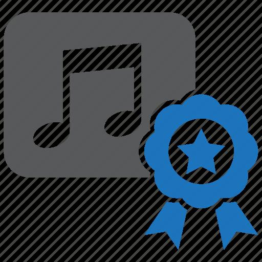 audio, media, music, prize, quality, speaker, volume icon