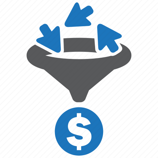 ads, advertise, click, conversion, money, optimization, rate icon