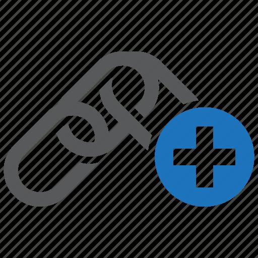 add, building, internet, link, linked, url, website icon