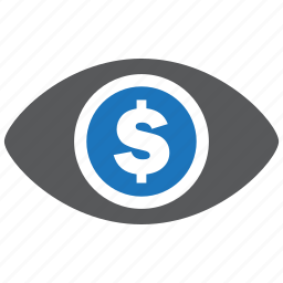 eye, find, money, pay, payment, seo, view icon