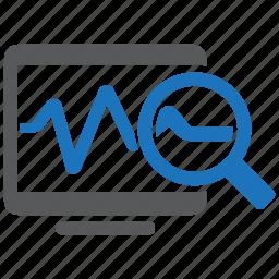 business, marketing, monitor, monitoring, optimization, pulse, seo icon