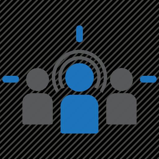 aim, audience, bullseye, customer, goal, marketing, target icon