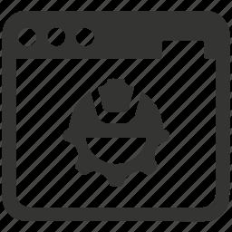 construction, development, reengineering, website icon