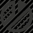 diagram, pie chart, report, statistics icon