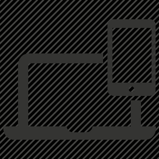 design, devices, responsive icon