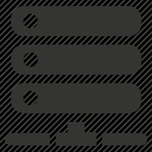 data, server, storage icon