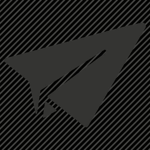 paper, rocket, send icon