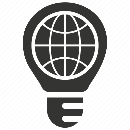 creative, global, idea, solution icon
