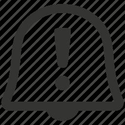 alert, notification, warning icon