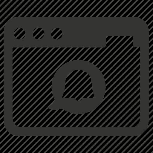 information, instruction, notification, web icon