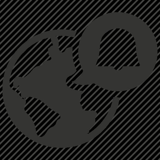 browser, notification, reminder, web icon