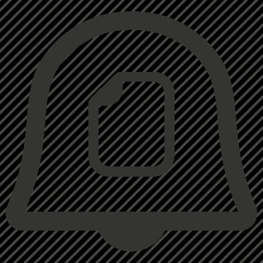 document, file, notification, warning icon