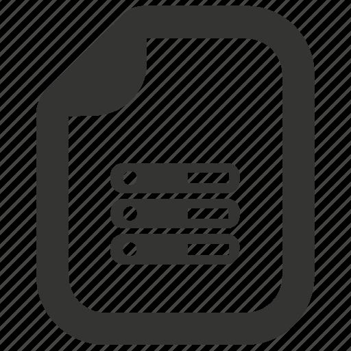 Database, document, server icon - Download on Iconfinder