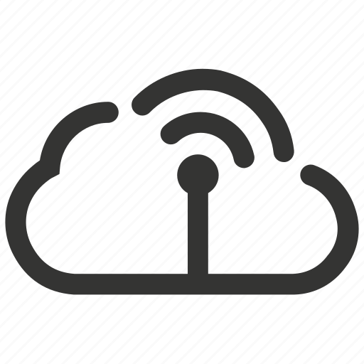cloud, computing, network, wifi icon