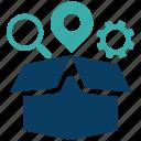box, business, business icon, businessman, seo, service icon