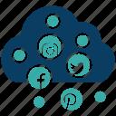business, business icon, businessman, cloud, media, seo, social icon