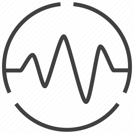 analysis, analytics, diagram, graph, market, pulse, statistics icon