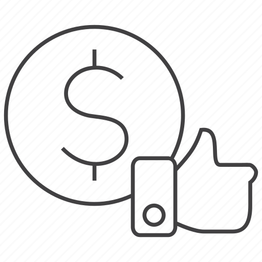 cost, impression, like, pay, price, shop, shopping icon