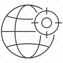 geo, targeting, location, map, point, target, pin