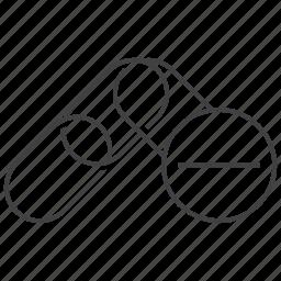 chain, connection, delete, link, removal, remove, url icon