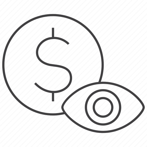 coin, currency, find, money, pay, payment, view icon