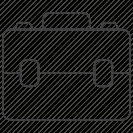 bag, briefcase, business, case, education, portfolio, school icon