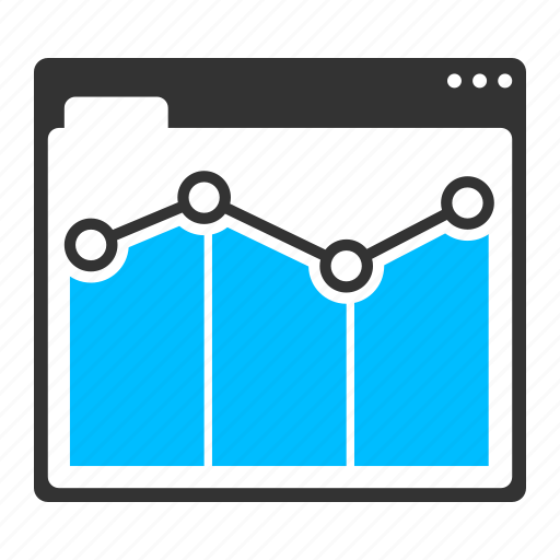 analysis, analytics, business, graph, marketing, page rank icon