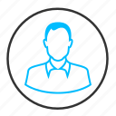 avatar, client, man, person, profile, user icon
