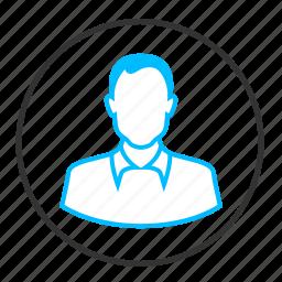 avatar, client, man, person, profile, user icon