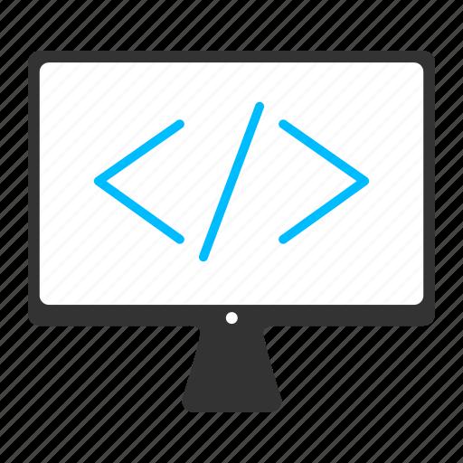 anular bracket, code, coding, html5, web coding, web page icon