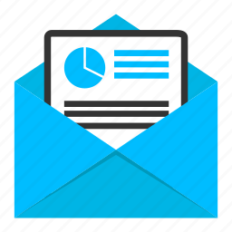 content marketing, data send, email, email marketing, file send, marketing icon