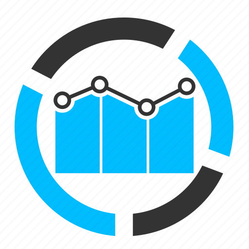 analytics, business, graph, market analysis, marketing, report, statistics icon