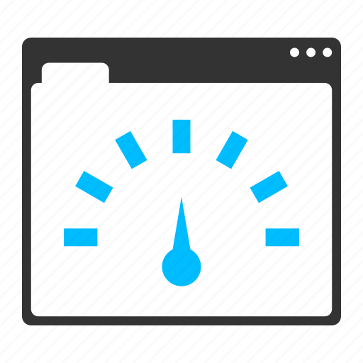 meter, performance, speed, speedometer, web optimization, web page speed icon
