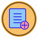 add, cart, extension, file, new, new-add, plus icon