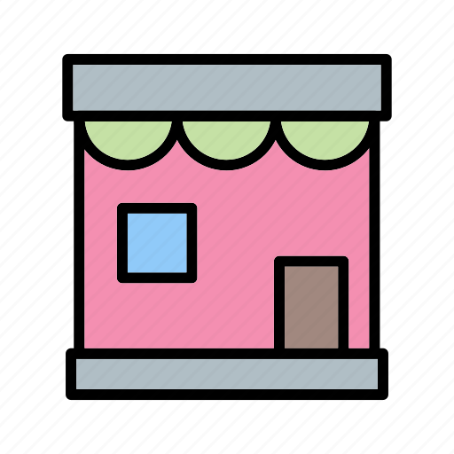 cafe, market, shop, store icon