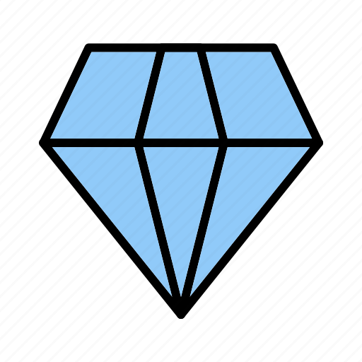 diamond, gem, jewel, rich, ring, shine, stone icon