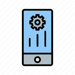 mobile marketing, programing, settings icon