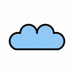 cloud, drive, sky, source, upload icon