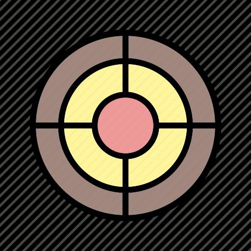 audience, dart, market, success, target icon