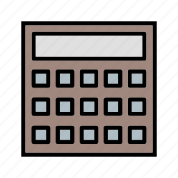 calculation, calculator, economy, mathematics, maths icon