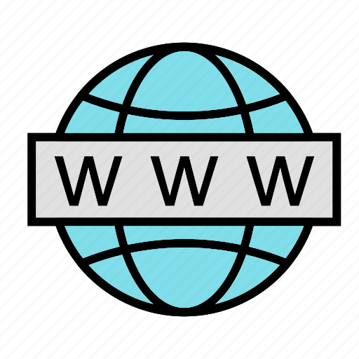 earth, globe, link, url, website icon
