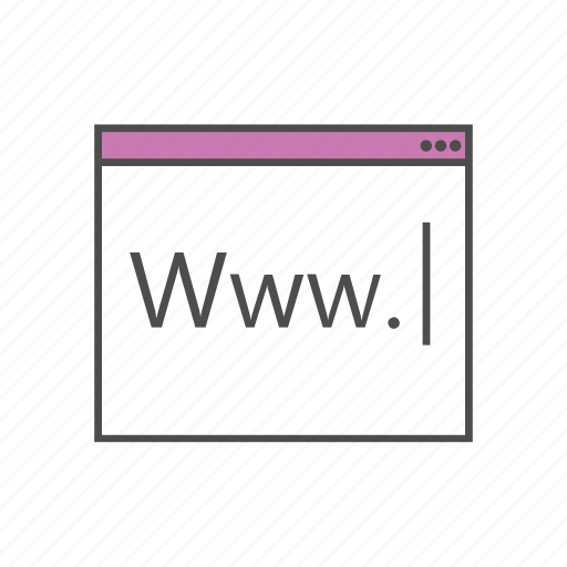 browse, search, site, surf, type, web, www icon