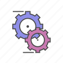 gear, motion, optimization, optimize, seo, settings icon