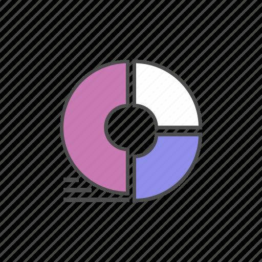 chart, graphic, info, infographic, pie, presentation icon
