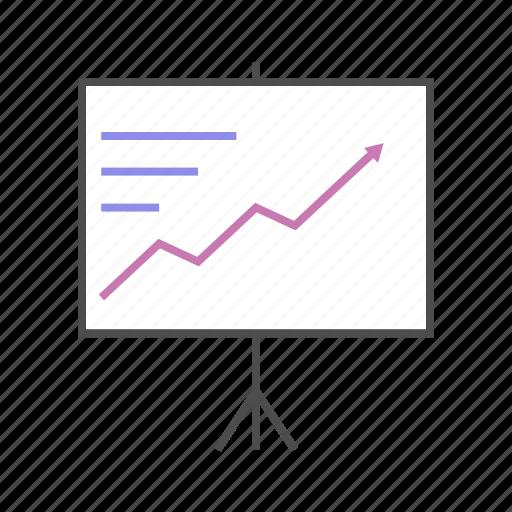graph, graphic, line, presentation, seo, station, upward icon