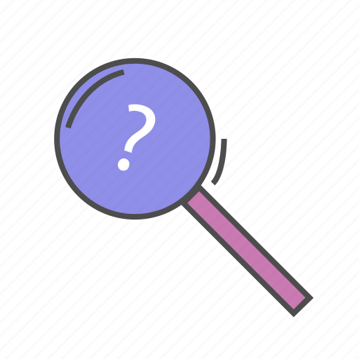 find, look for, magnifying glass, observe, research, search, seo icon